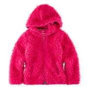 Weatherproof Hooded Faux-Fur Jacket - Girls 7-16