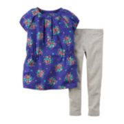 Carter's® Floral Tunic and Leggings - Baby Girls newborn-24m