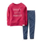Carter's® Sweatshirt and Jeggings - Baby Girls newborn-24m