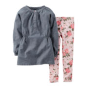 Carter's® Chambray Tunic and Leggings - Baby Girls newborn-24m