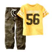 Carter's® Tee and Camo Pants - Baby Boys newborn-24m