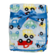 Cars High-Pile Faux Mink Blanket