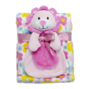 2-pc. Blanket and Lion Doll Set