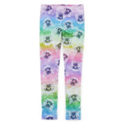Rainbow Kitty-Print Leggings - Girls 7-16