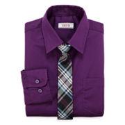 IZOD® Dress Shirt and Tie Set - Boys 8-20