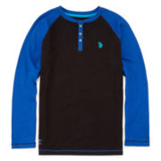 U.S. Polo Assn.® Thermal Henley - Boys 8-18