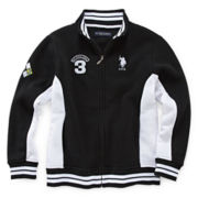 U.S. Polo Assn.® Fleece Track Jacket - Boys 8-18