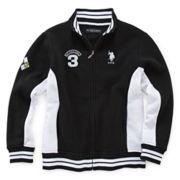 U.S. Polo Assn.® Fleece Track Jacket - Boys 8-18
