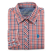 U.S. Polo Assn.® Plaid Woven Shirt - Boys 8-18