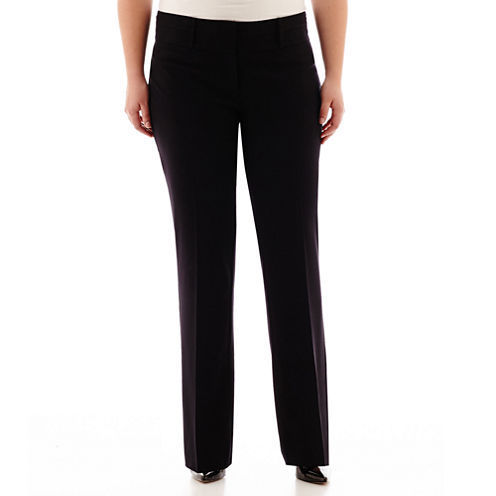 Hollywould Technology-Waist Pants - Juniors Plus