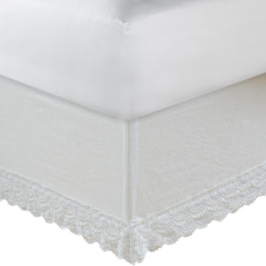 jcpenney.com | Greenland Home Fashions Crochet Lace Bedskirt
