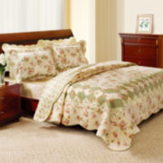 Bliss Floral Quilt Set