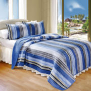 Brisbane Stripe Quilt Set
