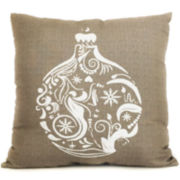 Winter Ornament Decorative Pillow