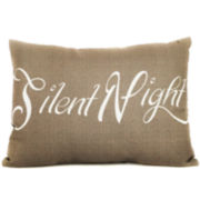 Silent Night Decorative Pillow