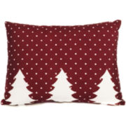 Polka Flakes Decorative Pillow