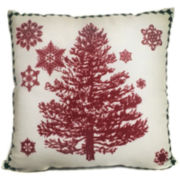 Winter Tree Decorative Pillow