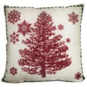Winter Tree Decorative Pillow