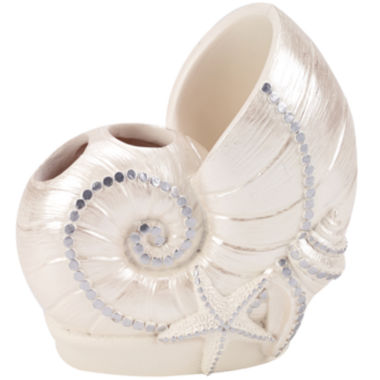 jcpenney.com | Avanti Sequin Shell Toothbrush Holder
