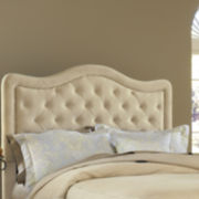 Liana Upholstered Headboard with Nailhead Trim