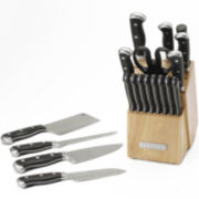 Sabatier Classic Forged Stainless Steel 20-pc. Knife Set