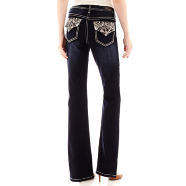 jcpenney.com | Love Indigo Back Flap Pocket Jeans- Petite
