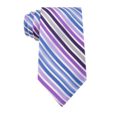 jcpenney.com | Van Heusen® Shaded Stripe Silk Tie - Extra Long
