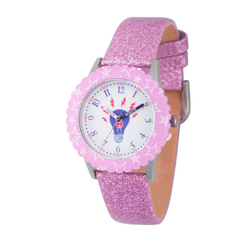 Discovery Kids® Glitzy Purple Lightbulb Watch