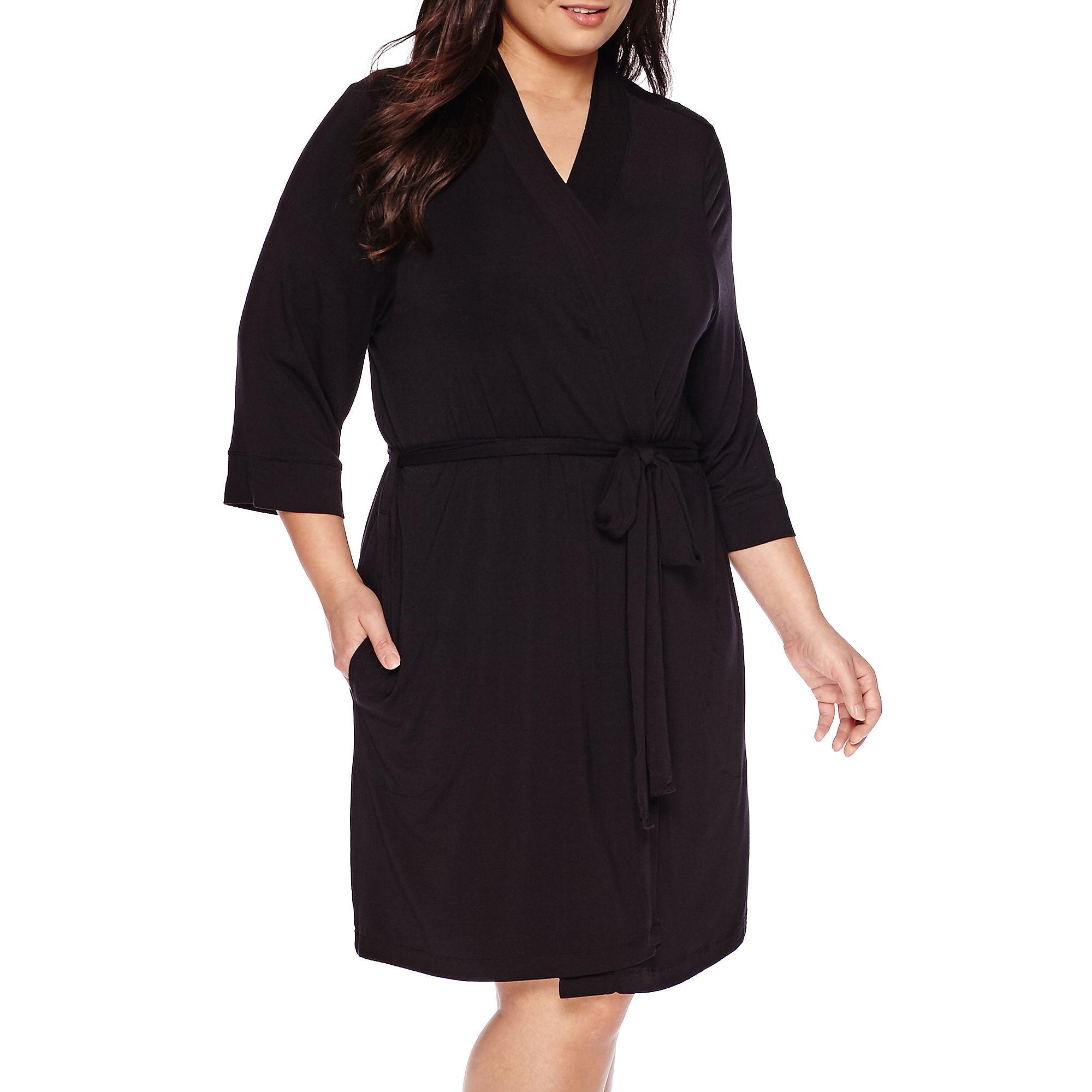 Ambrielle Kimono Robe - Plus plus size,  plus size fashion plus size appare