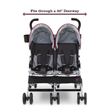 jcpenney.com | Delta Children J is for Jeep Brand Scout Double Stroller Burgundy