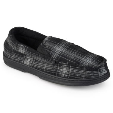 jcpenney.com | Brumby Plaid Moccasin Slippers