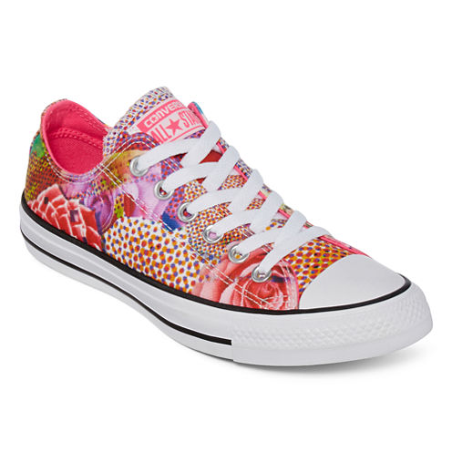 Converse® Chuck Taylor All Star Womens Pink Floral Sneakers