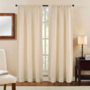 Shale Rod-Pocket Curtain Panel