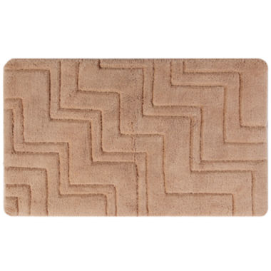 jcpenney.com | Castle Hill London Zig Zag Bath Rug Collection
