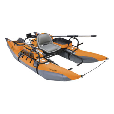 jcpenney.com | Classic Accessories® 69774 Colorado XT Inflatable Pontoon Boat - Pumpkin/Grey