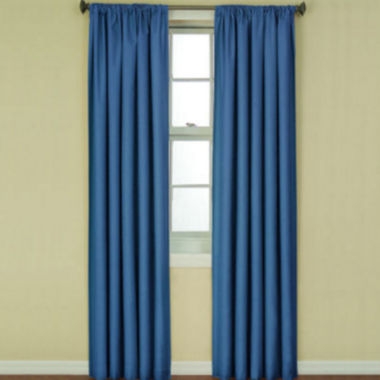jcpenney.com | Eclipse® Kids' Kendall Rod-Pocket Blackout Curtain Panel