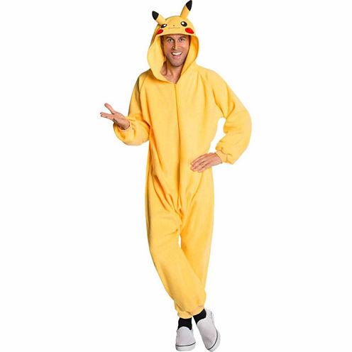 Pokemon: Pikachu Jumpsuit Adult Costume STD