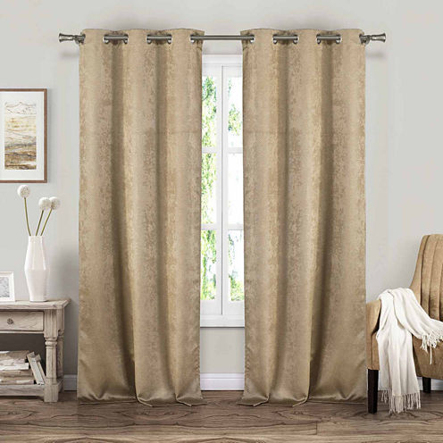 Blackout 365 Suzanne 2 Pack Blackout Curtain Panel Jcpenney