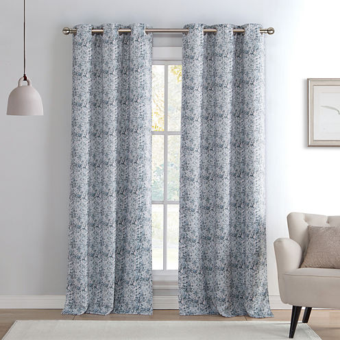 Kenise Kensie Blackout Curtain Panel Jcpenney