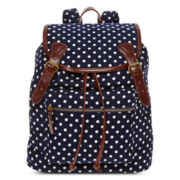 Olsenboye® Polka Dot Corduroy Backpack