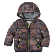 Carter's® Camo Bubble Jacket - Boys 12m-24m