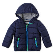 Carter's® Navy Bubble Jacket - Boys 12m-24m