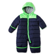 Carter's® Navy Green Pram Coat - Boys 3m-9m