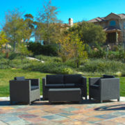 Breakers 4-pc. Outdoor Wicker Conversation Set