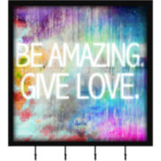 Be Amazing Wall Decor with Hooks