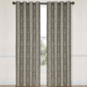 Eclipse® Nolita Grommet-Top Blackout Curtain Panel with Thermalayer