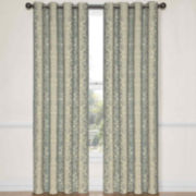 CLOSEOUT! Eclipse® Nolita Grommet-Top Blackout Curtain Panel with Thermalayer