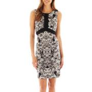 nicole by Nicole Miller® Sleeveless Sheath Dress