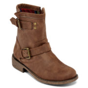 Diba® London Connie Womens Ankle Booties