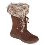 St. John's Bay® Chase Lace-Up Boots